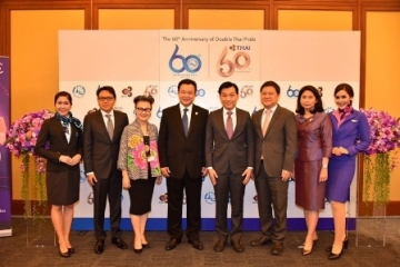 TAT Joins Forces with THAI to Promote 60th Anniversary