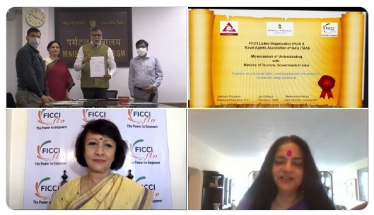 TAAI & FICCI FLO sign MoU with MoT for Women Skilling Program