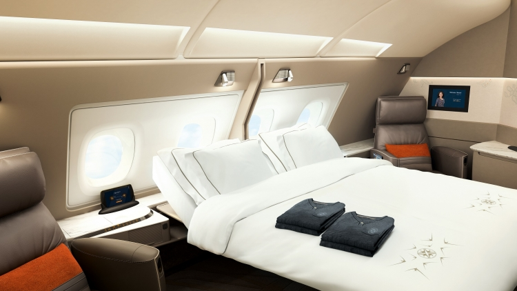 Singapore Airlines rolls out new cabin products on A380