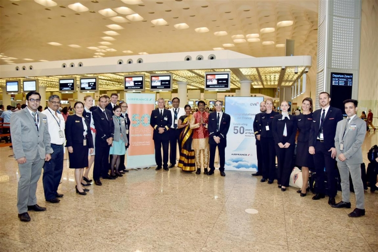Air France celebrates 50th anniversary of its Paris – Mumbai route