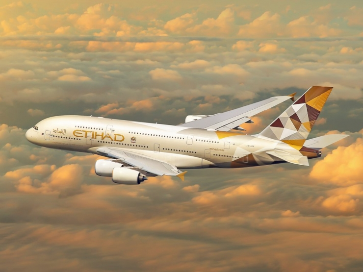 Etihad temporarily suspends all services