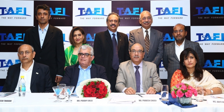 Praveen Chugh re-elected as TAFI President