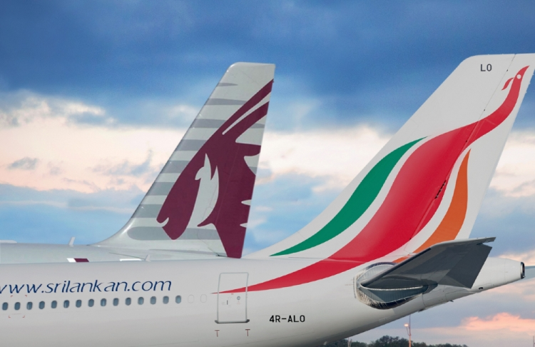 SriLankan Airlines Expands Codeshare Agreement with Qatar Airways