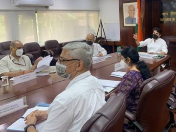 Scindia interacts with CM of Uttarakhand and LGs of Ladakh and A&N