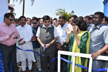 Nitin Gadkari inaugurates inland ferry services in Goa