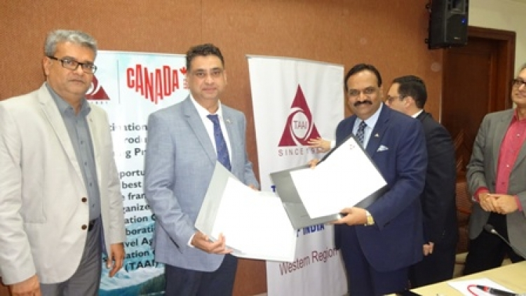 Canada signs MoU with TAAI for 7 city workshops