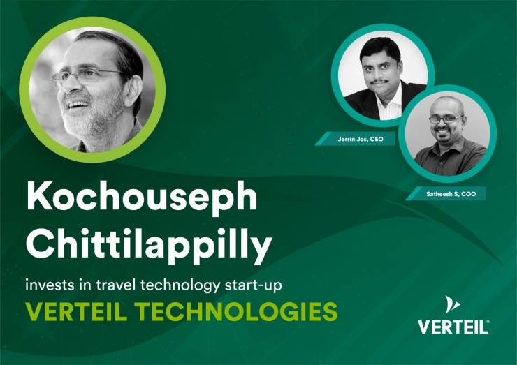 Kochouseph Chittilappilly invests in Verteil Technologies