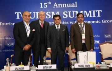 Indian Tourism Sector should aim to reach 50 billion dollar by 2022: Amitabh Kant