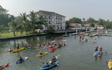 Kerala Tourism to organise Muziris Paddle 2020