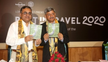 Faiz Ahmed Kidwai, Managing Director- MPTB and Sesh Seshadri, Director, Lonely Planet