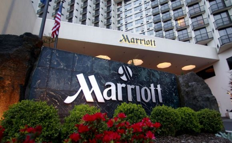 Marriott sees sharp fall in global RevPAR